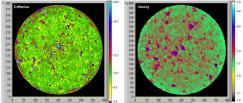 Zeff and Density tomograms