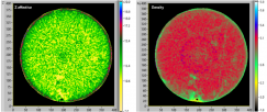 Zeff and Density tomograms